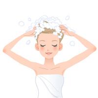 頭皮と髪に大事なシャンプー